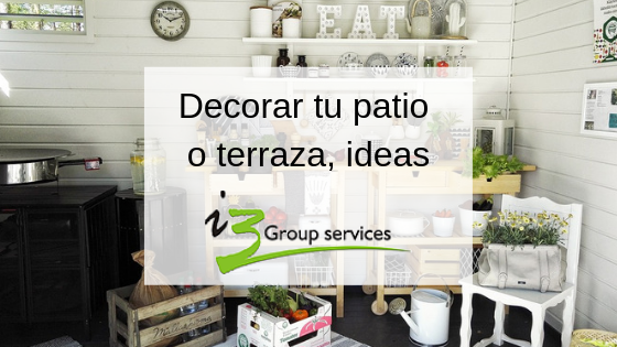 ideas para terrazas Ideas Para Decorar Tu Patio O Terraza I3 Group Services